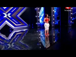 ��� ������� White Rihanna X-factor 2012 - YouTube